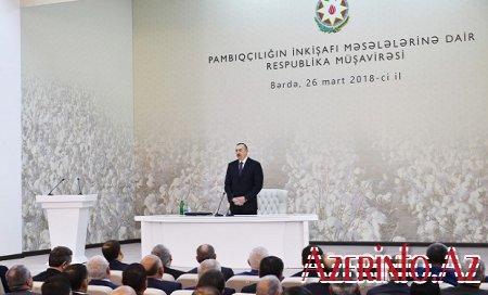 Prezident Bərdədə müşavirə keçirir — FOTO / YENİLƏNİB