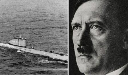 Hitlerin sualtı qayığı tapıldı