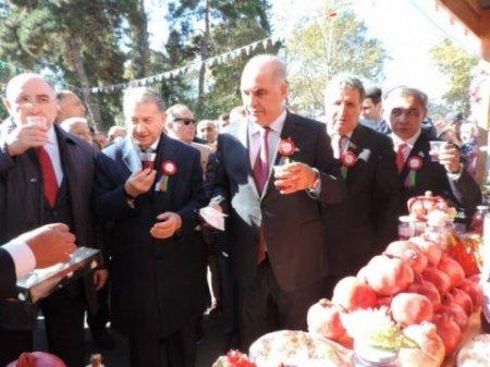 Göyçay şefi nar festivalını üz-gözünə bulaşdırdı, pul yığdı, 300 mini adına çıxardı -Skandal/Açıqlama