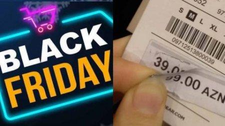 """""""28 Mall""""da adı olub, özü olmayan """"Black Friday"""" endirimləri - FOTOLAR"""