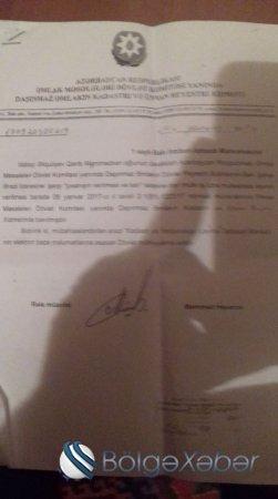 """Torpağı əlindən alınan MÜHARİBƏ VETERANI:""""Özümü Prezident Administrasyasının qarşısında yandıracam""""-VİDEO"""