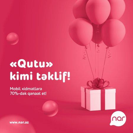 """""""Nar""""-ın """"Qutu"""" təklifindən istifadə edənlərin sayı 2 dəfə artıb"""""""
