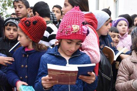 """Ümumdünya Kitab Günündə """"Nar""""-dan kənd məktəbinə dəstək"""
