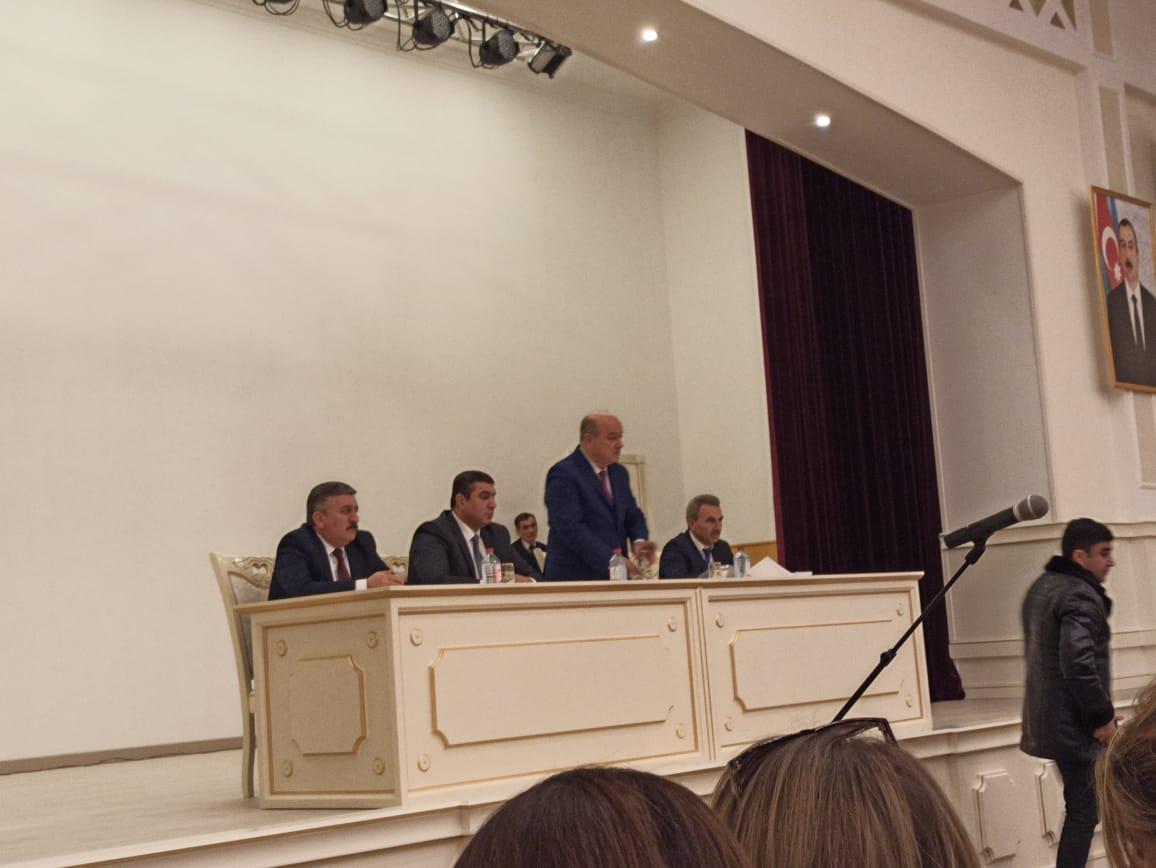 87 saylı Ağsu-İsmayıllı seçki dairəsindən deputatlığa namizəd Malik Əsədov  ...