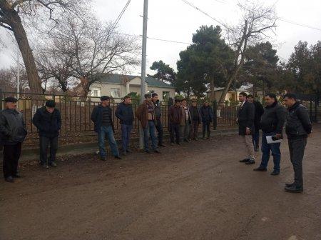 20 Yanvar şəhidlərinin məzarını ziyarət etdik və Ağsu rayonunda Bico kəndində seçicilərlə görüşdük