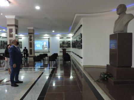 Ağsu rayonunda Ümummilli Lider Heydər Əliyevin anadan olmasının 98-ci ildönümü qeyd edilib