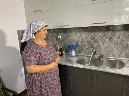 İsmayıllının İvanovka kəndinin əhalisinin içməli su problemi həll edilmişdir