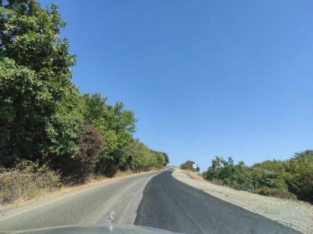 İsmayıllıda bir neçə kəndin avtomobil yolu yenidən keyfiyyətli şəkildə təmir olundu! Fotolar