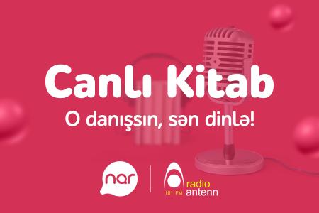 """""""Nar"""" ən böyük Azərbaycandilli səsli kitabxanaya dəstəyini davam etdirir"""""""
